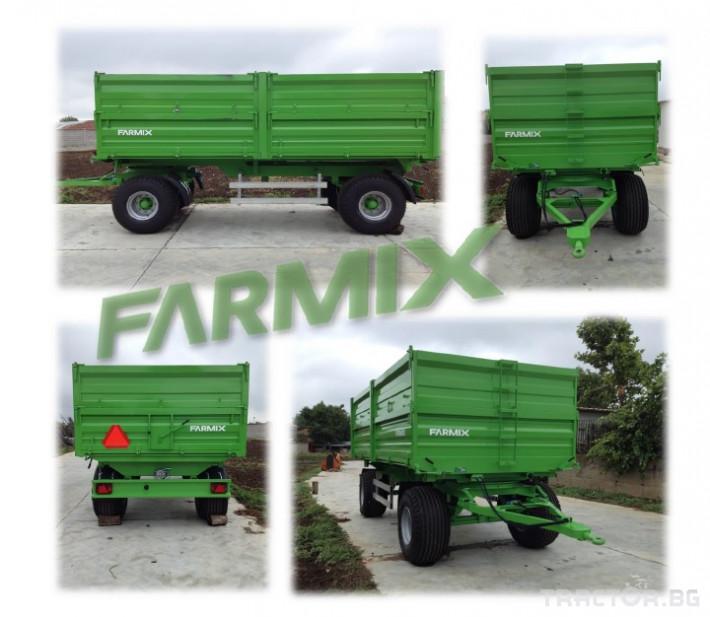Ремаркета и цистерни Ремарке FARMIX F14 0