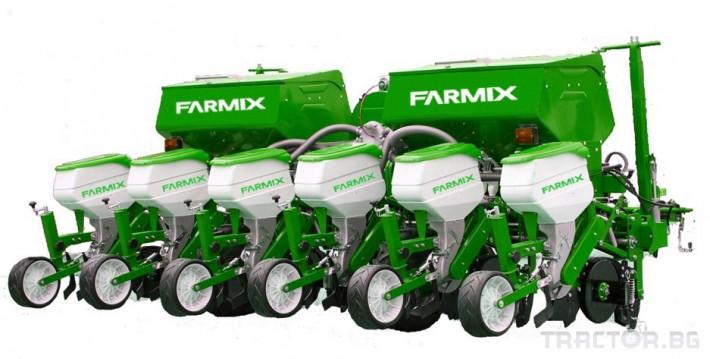 Сеялки Пневматична сеялка за пролетници с торовнасяне FARMIX 1 - Трактор БГ
