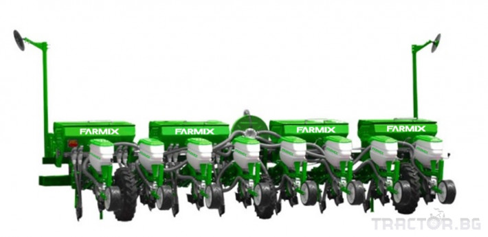 Сеялки Пневматична сеялка за пролетници с торовнасяне FARMIX 2 - Трактор БГ