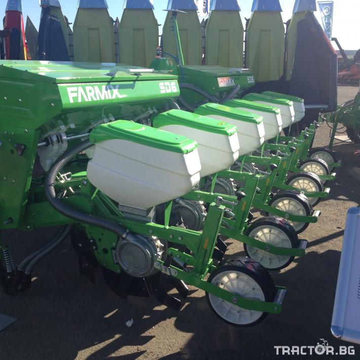 Сеялки Пневматична сеялка за пролетници с торовнасяне FARMIX 4 - Трактор БГ