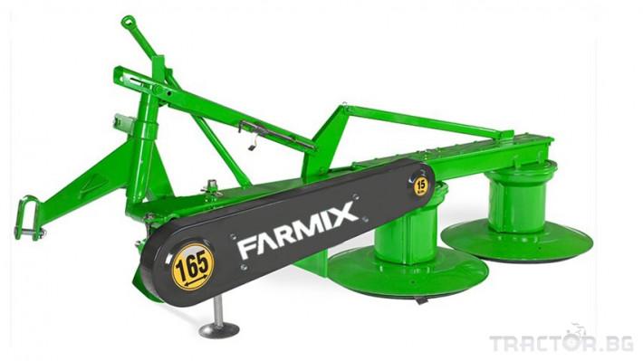 Косачки Навесна дискова косачка  FARMIX DM 165 1 - Трактор БГ