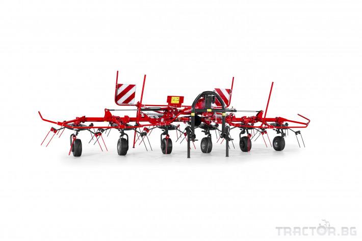Сенообръщачки SIP Сенообръщачи Spider с 6 ротора 1 - Трактор БГ