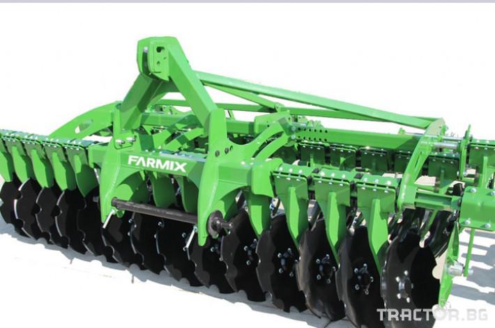 Брани Дискова брана FARMIX, модел D400 0 - Трактор БГ