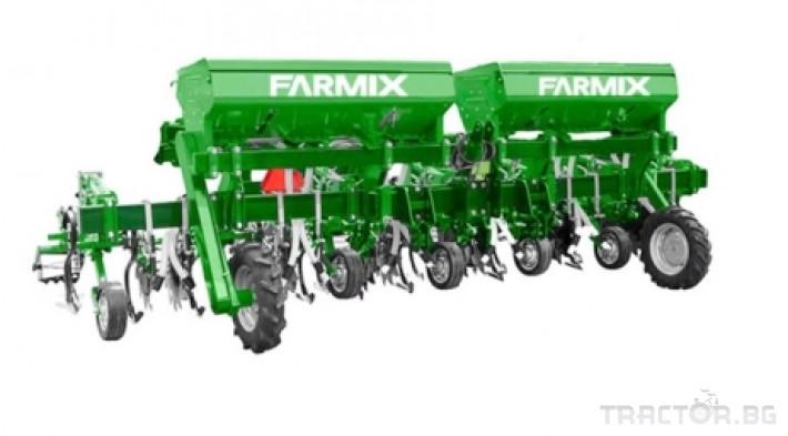 Култиватори Окопен култиватор с торовнасяне FARMIX CR6 1 - Трактор БГ