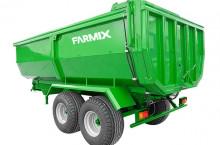 Двуосно ремарке със задно разтоварване FARMIX FTC14