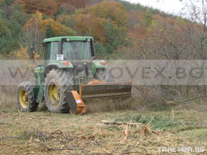 Мулчери Berti Горски мулчер BERTI, модел EFX/MD 200 3 - Трактор БГ