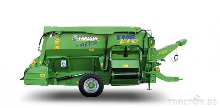Машини за ферми Хоризонтален фуражен миксер FARESIN, модел Master 1050 0