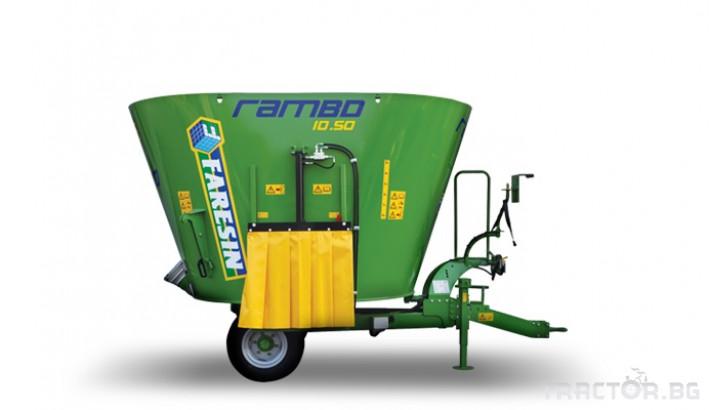 Машини за ферми Вертикален фуражен миксер FARESIN Rambo 1050 0
