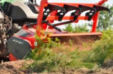 Комбиниран мулчер-тилер марка AHWI модел M650m