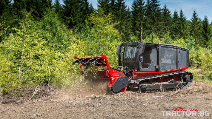 Трактори Самоходна верижна машина за горски терени AHWI Raptor 300 0