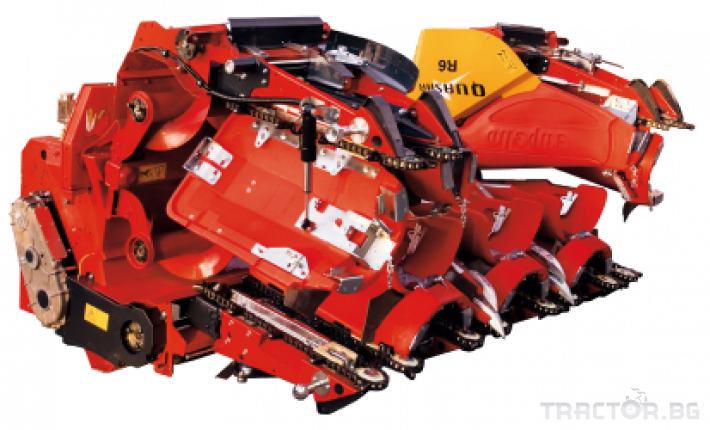 Хедери за жътва 12 редов хедер за царевица Capello, модел Quasar F12 2 - Трактор БГ