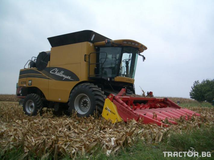 Хедери за жътва 8 редов хедер за царевица Capello, модел Quasar F8 0 - Трактор БГ