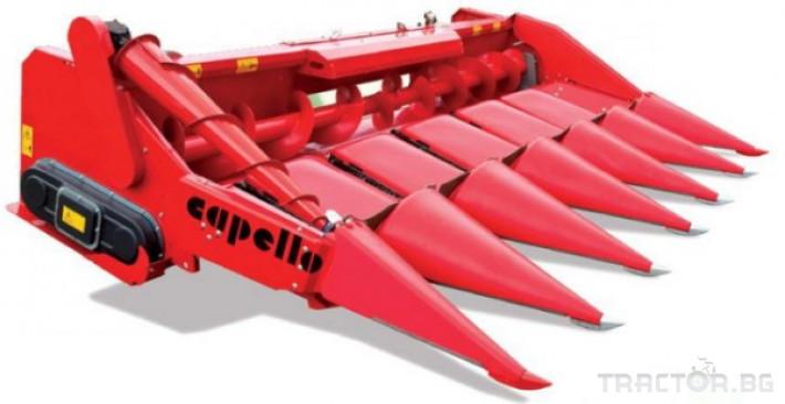 Хедери за жътва 8 редов хедер за царевица Capello, модел Quasar F8 1 - Трактор БГ