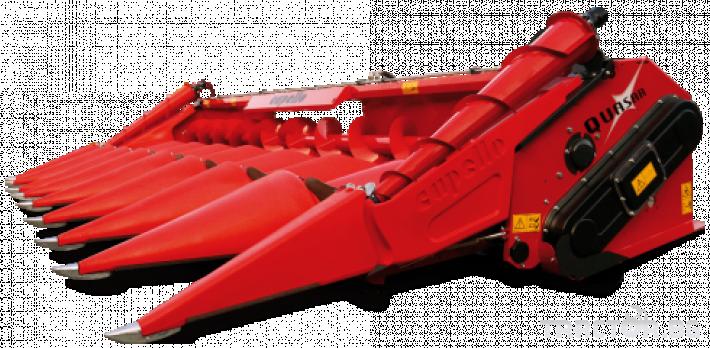 Хедери за жътва 6 редов хедер за царевица Capello, модел Quasar F6 0