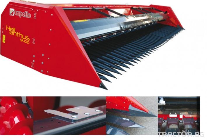 Хедери за жътва Безредов хедер за слънчоглед Capello, модел Helianthus 7,5 м. 0 - Трактор БГ