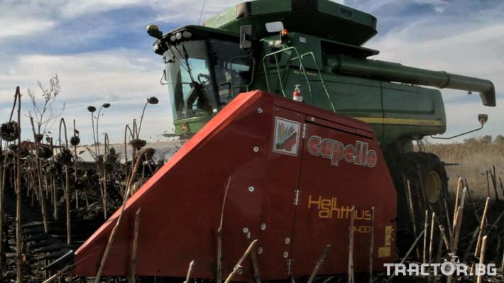 Хедери за жътва Безредов хедер за слънчоглед Capello, модел Helianthus 5,7 м. 1 - Трактор БГ