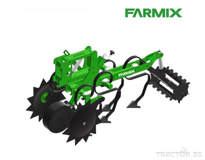 Култиватори Окопен култиватор с торовнасяне FARMIX CR6 2 - Трактор БГ