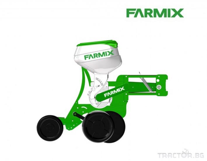 Сеялки Пневматична сеялка за пролетници с торовнасяне FARMIX 3 - Трактор БГ