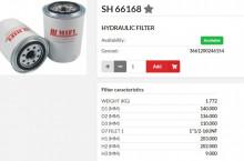 HIFI FILTER SH66168